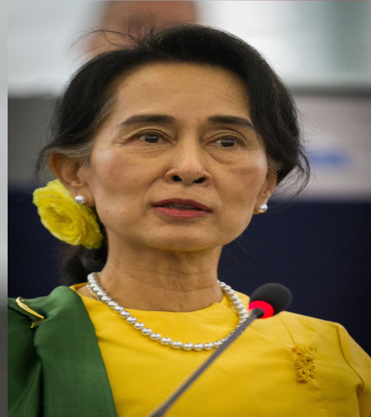 Suu Kyi confronted with sedition charge on 2nd day of trial