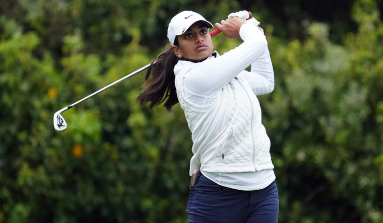 Golf: Indian-American teen Megha Ganne finishes T-14th at US Women's Open